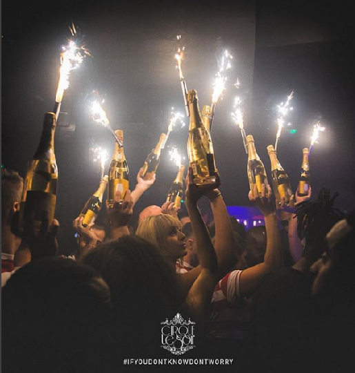 cirque le soir party,nightclub