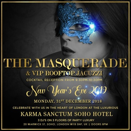 New Year's Eve 2019 Ticket Booking Nightclubs London