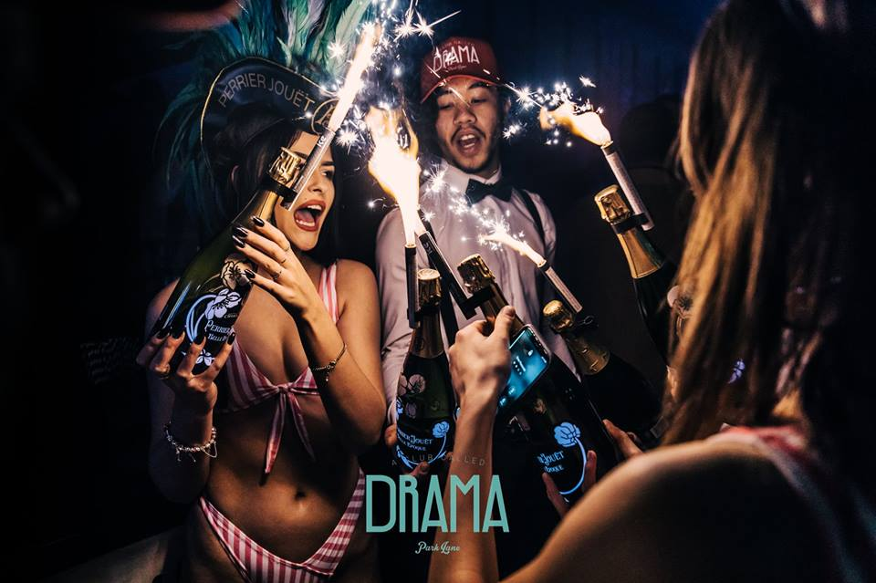new year's eve parties at london drama park lane